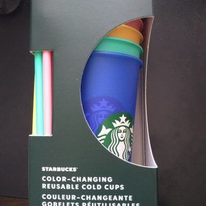 Starbucks Other - STARBUCKS Color Changing Cold Cups-Unopened